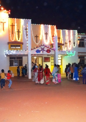 Christmas visit at Jeevodaya